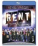 Rent: Filmed Live on Broadway (Ws Sub Ac3 Dol) [Blu-ray] [Import]