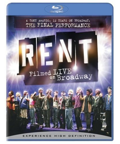 Rent: Filmed Live on Broadway [Blu-ray] [Import]