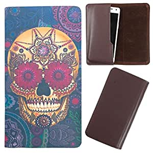 DooDa - For XOLO Q700 Club PU Leather Designer Fashionable Fancy Case Cover Pouch With Smooth Inner Velvet