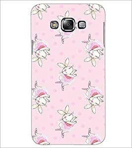 PrintDhaba Bunny pattern D-2091 Back Case Cover for SAMSUNG GALAXY A8 (Multi-Coloured)