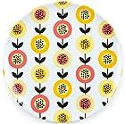 Papaya Melamine Dinner Plates - Designer Dinnerware from The Radish Store - Set of 4, 10-inch