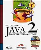 echange, troc Cay S. Horstmann, Gary Cornell - Au coeur de Java 2 - Volume 1 : Notions fondamentales (avec CD)