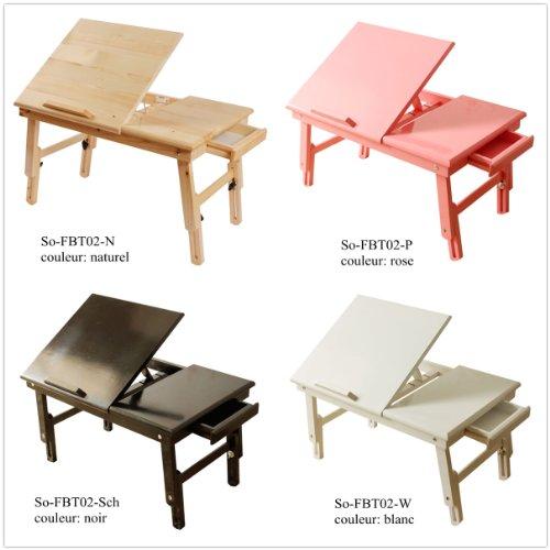 Table de lit pliable pour repas pc portable ipad etc en - Table de lit pour ordinateur portable ...