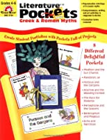 Literature Pockets, Greek & Roman Myths Grades 4-6