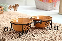 BestVida® Sparks Pet Stand (Small, Pupgold)