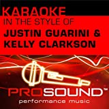 Karaoke - In the Style of Justin Guarini and Kelly Clarkson - EP (Professional Performance Tracks)