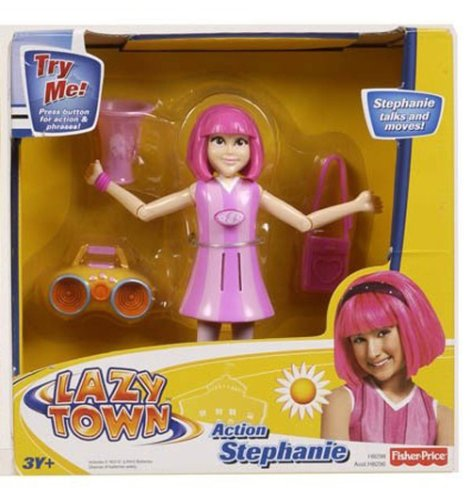 Lazytown Lazy Town Action Figure Stephanie