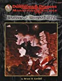 Masters of Eternal Night (Advanced Dungeons & Dragons/Monstrous Arcana Accessory) (0786912537) by Cordell, Bruce R.