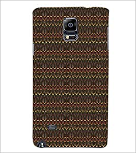 SAMSUNG GALAXY NOTE 4 DROP PATTERN Designer Back Cover Case By PRINTSWAG