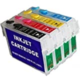 Max Refillable Cartridges Set 73N For Epson Printer