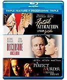 Michael Douglas: Triple Feature (Fatal Atttraction, Disclosure, A Perfect Murder) [Blu-ray] (Bilingual)