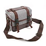 Dslr Camera Shoulder Messenger Case Bag for Canon Sony Nikon Pentax Fuji Nos2fw