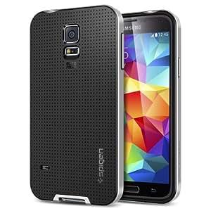 Spigen Neo Hybrid Coque pour Samsung Galaxy S5 Argent