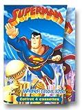echange, troc Coffret Superman 4 VHS : Survivant de Krypton / Batman, Superman : L'Alliance / Motard Cosmos / Programmé pour détruire