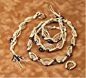 HEMP Jewelry Kit - Makes up to 5 Projects (Natural Rope with Black Beads)