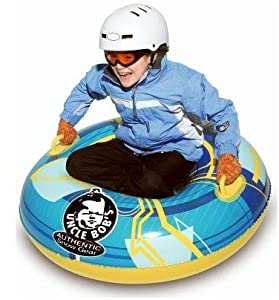 Buy Inflatable Uncle Bob's 37 Blue Round Snow Tube by Uncle Bob's