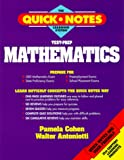 img - for Test-Prep Mathematics (The Quick Notes Learning System) book / textbook / text book