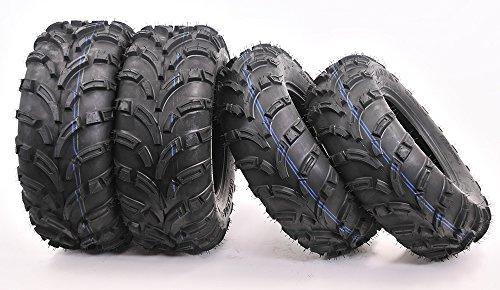 Full set WANDA ATV/UTV Tires 25x8-12 Front & 25x10-12 Rear /6PR (Atv Rims And Mud Tires Set compare prices)