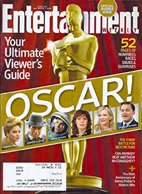 * VIEWER'S GUIDE TO THE OSCARS * Leonardo DiCaprio, Cate Blanchett, Jared Leto, Sandra Bullock, Chiwetel Ejiofor, Jennifer Lawrence - SPECIAL DOUBLE ISSUE Entertainment Weekly Magazine
