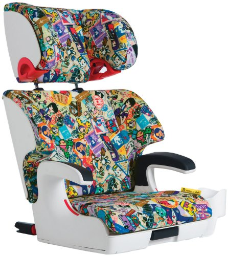 Clek Oobr Special Edition Tokidoki Booster Seat, Travel front-357030