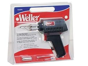 Weller 7200PK 75-Watt Standard Lightweight Soldering Gun Kit