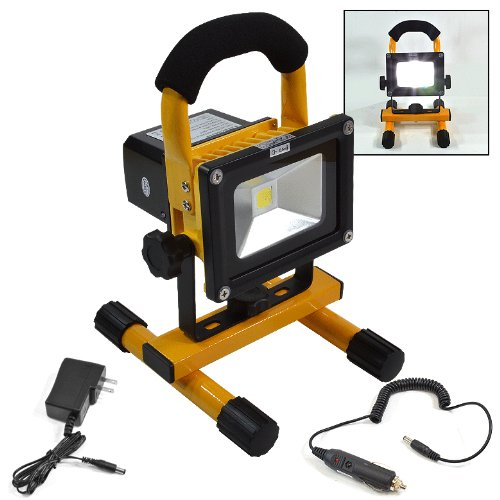 Super Bright 8 Led Work Light Torch Car Garage Flashlight: Portable 10W COB Type Super Bright LED Work Light