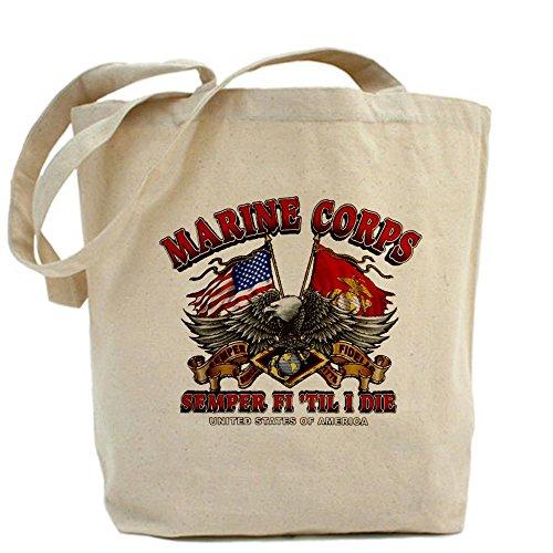 Royal Lion Tote Bag Marine Corps Semper Fi 'Til I Die