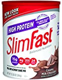 Slim-Fast 3-2-1 High Protein Powder, Creamy Chocolate Shakes, 12.83 oz