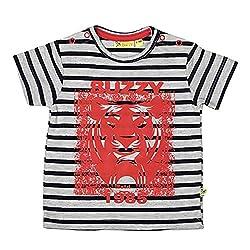 Buzzy Baby-Boys' Cotton T-Shirt (Grey,9-12M)