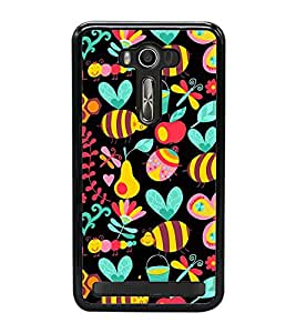 Cute Wallpaper 2D Hard Polycarbonate Designer Back Case Cover for Asus Zenfone Selfie ZD551KL