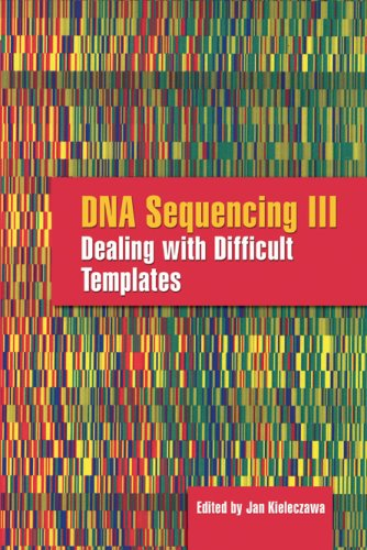 Dna Sequencing Iii: Dealing With Difficult Templates
