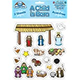 A Child is Born Sticker Set (Christmas)
