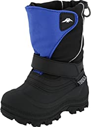 Tundra Quebec Wide Boot,Black/Royal,11 W US Little Kid