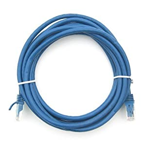 Intellinet 3ft CAT5E UTP Ethernet RJ45 Patch Cable BK U-003BK