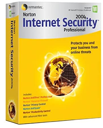 Norton Internet Security 2004 Professional