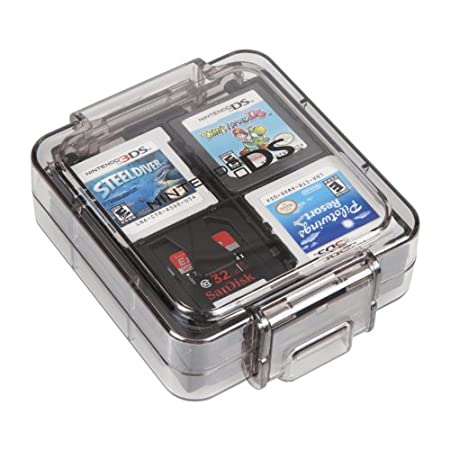 Official 16 Game Clear Case- Black