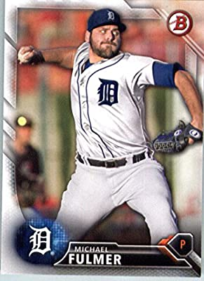 2016 Bowman Prospects #BP91 Michael Fulmer Detroit Tigers Baseball Card