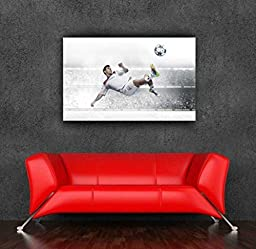 Yellowday Newest Football Wall Sticker Messi Poster Painting 90x60cm 36x24inch Removable soccer decoration Living Room