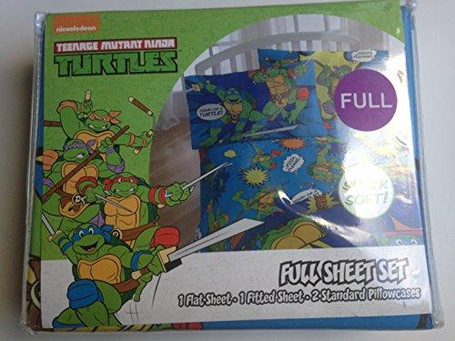 Nickelodeon Teenage Mutant Ninja Turtles Team Turtles Full Sheet Set