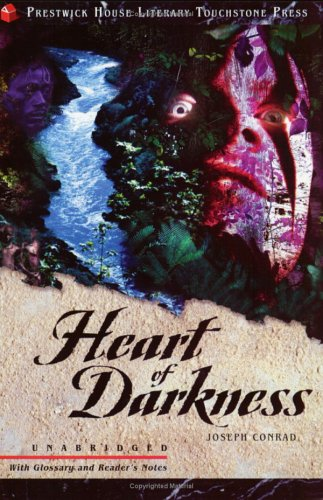 Heart of Darkness, VERGIL,CONRAD  black and white cover cloth with silver lettering on the spine; book in a black slipcase.