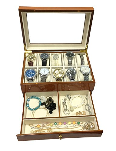 Sodynee® Top Quality Wooden Watch Box Watch