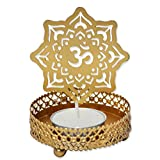 Shagun for you Shadow effect Tealight Candle Holders, Diwali Decor, Corporate Gifting (Om)