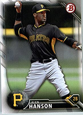 2016 Bowman Prospects #BP102 Alen Hanson Pittsburgh Pirates Baseball Card