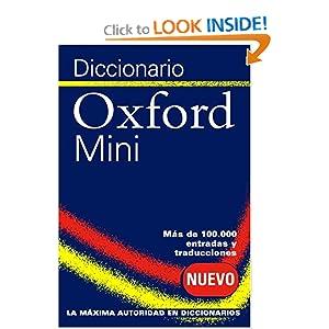 Diccionario Oxford Mini: Oxford Spanish Minidictionary  by Oxford University Press