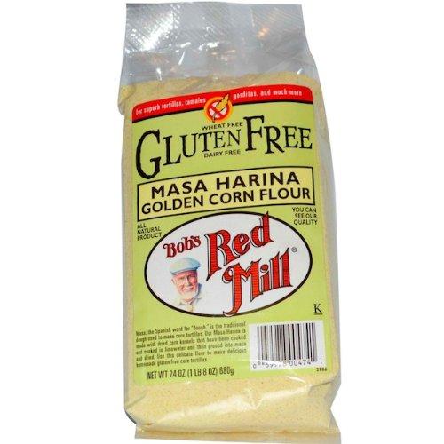 Bob's Red Mill Golden Masa Harina Corn Flour, 25 Pound (Golden Masa Harina Corn Flour compare prices)