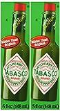 Tabasco Brand Green Jalapeno Pepper Sauce Pack of 2