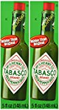 Tabasco Brand Green Jalapeno Pepper Sauce Pack of 2