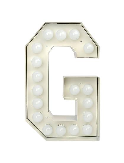 SELETTI Lampada VEGAZ Lettera G