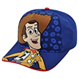 Disney Pixar Toy Story 3 Woody Hey Howdy Child Adjustable Velcro Blue Hat Cap