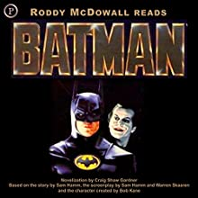 Batman Audiobook by Craig Shaw Gardner Narrated by Roddy McDowell